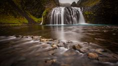The Small Foss, Iceland