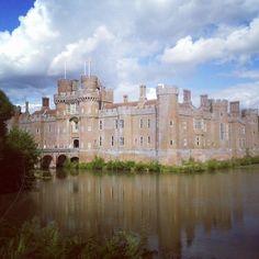 Herstmonceux Castle in Herstmonceux, East Sussex