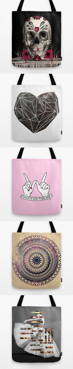 Tote Bags and millions of other products available at Society6.com today. Every purchase supports independent art and the artist that created it.