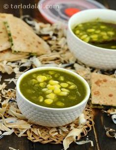 Corn Palak ( Healthy Subzi) recipe | Healthy Subzis Recipes | by Tarla Dalal | Tarladalal.com | #6412