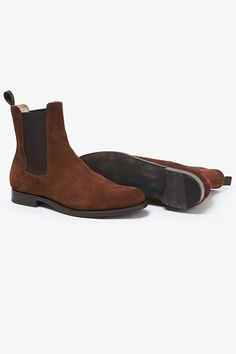 CLERK SIDE GORE BOOTS COW SUEDE | BOOTS | COVERCHORD