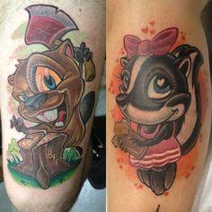 tattooist, Jime Litwalk, tattoo, new school