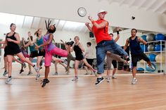 Zumba fitness has reached The BodyHoliday! Just one of the many activities on offer.