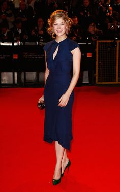 Pin for Later: From Bond Girl to Gone Girl: Rosamund Pike's Red Carpet Evolution Rosamund Pike