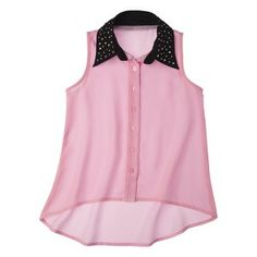 D-Signed Girls' Button Down Shirt - : Target Mobile