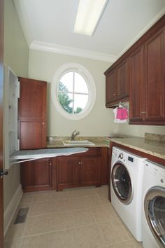 Could These Luxurious Laundry Rooms Actually Make Doing Laundry Fun?
