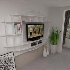 Bedroom Storage, Contemporary Decor, Storage Ideas, Small Spaces, Artsy, Organization, Tools, Tv, Decoration