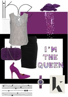 Whoever said formal can't be pepped up. Add a hint of glamour to that work event with these purple stilettos.