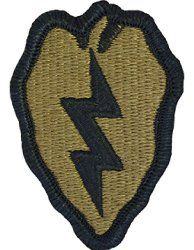 NSN: 8455-01-647-6596 (UNIT PATCH, 25TH INFANTRY, MULTICAM / OCP) - ArmyProperty.com