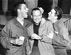Jerry Lewis, William Holden, Dean Martin