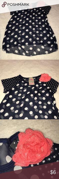 Girls Jenna & Jessie blouse Cute blouse, good condition, non smoking home Jenna & Jessie Shirts & Tops Blouses