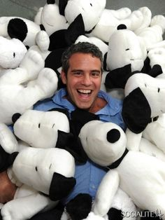 Andy Cohen gets Snoopied
