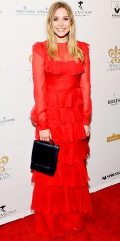 Elizabeth Olsen in Valentino