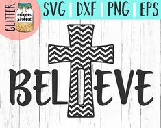 Believe Chevron Cross svg, .eps, dxf png Files and Designs for Silhouette Cameo and Cricut Explore Air Cutting Machines. Commercial Use License Included! ---- Cute SVG, Funny SVG, DIY, SVG Quote, SVG Sayings, Girl Designs, Pretty SVG, Mom Life, Boy Mom, Girl Mom, Mama Bear, Mothers Day, Christian SVG, Jesus SVG, Bible Quote, Bible Scripture, SVG Design, SVG File, Mug Design, Shirt Design, Cutting Designs, Cutting File, Cricut Air, Small Businesses