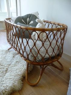 SHELTER: Talking rattan, bassinet