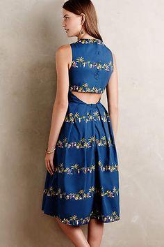 Hula Midi Dress - anthropologie.com