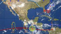 De acuerdo con el Servicio Meteorológico Nacional, en territorio michoacano hoy se esperan intervalos de chubascos con tormentas puntuales fuertes, temperaturas hasta por arriba de los 40 grados y mar ...