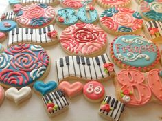 80th Birthday cookie