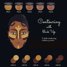 blackUp #Contouring #Tips  1. Apply #contour #sticks over your #foundation…