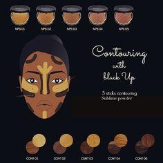 blackUp #Contouring #Tips  1. Apply #contour #sticks over your #foundation…