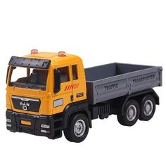 LeadingStar 1:55 Push and Go Friction Powered Alloy ABS Metal Car Model Trucks Toy Diecast Vehicle Birthday Toys For Children
