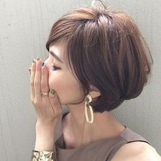 Pin on ucesy Pin on ucesy Short Thin Hair, Short Hair With Layers, Short Hair Cuts, Layered Hair, Short Hairstyles For Women, Pretty Hairstyles, Straight Hairstyles, Medium Hair Styles, Short Hair Styles
