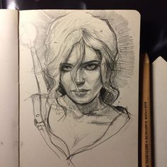 Ciri by MaryRiotJane.deviantart.com on @DeviantArt