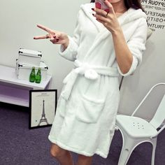 812ad6a114 Find More Information about Autumn and winter pink women s berber fleece  robe 100% cotton sleepwear