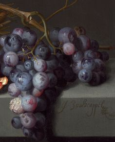 """soyouthinkyoucansee: """"Still Life with Fruit"""", detail 1675 Jacob van Walscapelle Jacob Collins, Still Life Fruit, Painting Still Life, Jolie Photo, Still Life Photography, Beautiful Paintings, Painting Inspiration, Food Art, Art Lessons"""