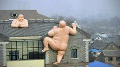 Giant Naked Buddhas