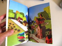 Childrens Book: The City Grows! by Caio Bucaretchi, via Behance