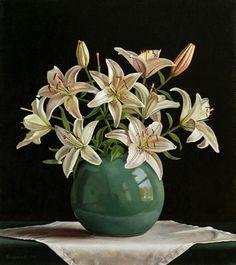 Donna Surprenant — White Lilies (712x800)