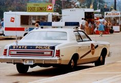 Kentucky State Police Ford LTD