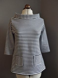 Tilly and the Buttons: Sixties Stripe Coco