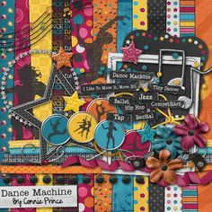 Dance Machine Kit :: Full Kits :: Kits & Bits :: SCRAPBOOK-BYTES