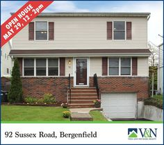 Open House this Sunday 5/22/16 at 92 Sussex Road Bergenfield from 12pm-2pm  http://ift.tt/1rxHdOn #openhousesunday #teaneck #bergenfield #newmilford #realestate #veranechamarealty #njrealestate #realtor #homesforsale #englewood - http://ift.tt/1QGcNEj