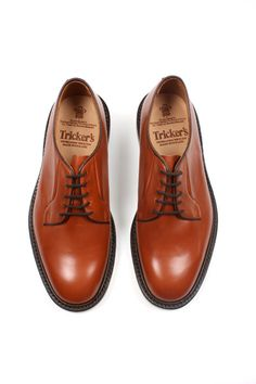 Trickers Robert Chaussures Derby - Marron c2rolJrwUA
