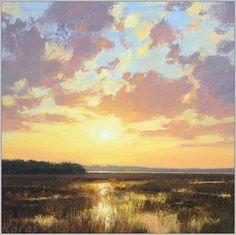 Sun Glow by Michael Karas Oil