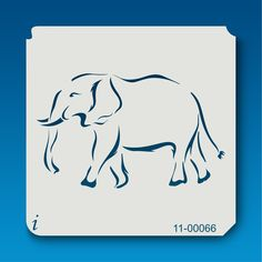· Ships in business days · Laser cut on mylar · Durable & reusable Elephant Stencil, Animal Stencil, Remembrance Day Art, Glass Engraving, Safari Animals, Narnia, Pyrography, Printmaking, Make Your Own