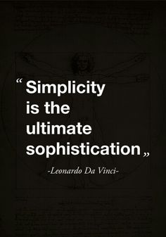 Be simple #Quotes #HOAmantra