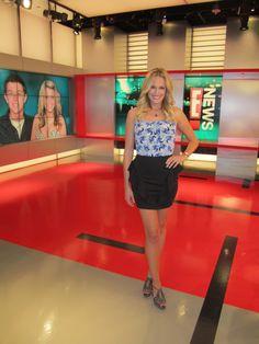 Ashland Gorse E News Wearing Backstage Skirt