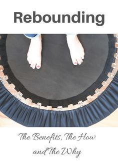 Rebounding: the benefits, the how and the why. Who would have thought that bouncing on a little trampoline could do anything for you? Well, I am here to tell you, by experience, that it can! Health Tips, Health And Wellness, Health Fitness, Mini Trampoline Workout, Rebounder Trampoline, Apple Health Benefits, Cold Home Remedies, Golden Milk, Turmeric Root