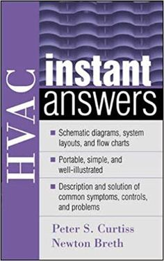 Hvac Instant Answers 1st Edition In 2020 Hvac Thermal Energy Storage Ebook