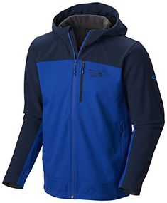 14b53f0bae4 Mountain Hardwear Paladin Hooded Jacket Mens AzulCollegiate Navy Large --  Learn more by visiting the image link.