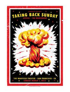 GigPosters.com - Taking Back Sunday - Letlive. - Metzingers, The