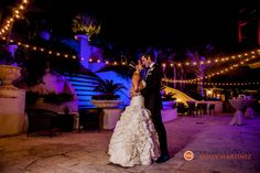 Wedding at The Ritz Carlton Coconut Grove, Miami   Bride and Groom   A Miami wedding venue   www.partyista.com