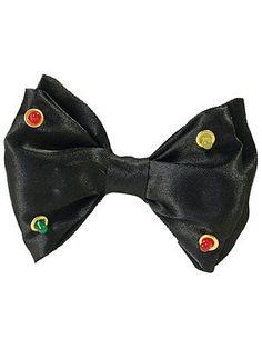 Flashing black dickie bow tie #clown #showbiz joke prop #fancy dress accessory ne, View more on the LINK: http://www.zeppy.io/product/gb/2/201323168549/