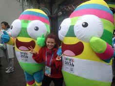 Meet #nanjinglele the official mascot of the #youtholympics #Nanjing2014 ✌️