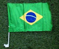 Our Brazil Car Window Flag is the perfect addition to your car so that you can fly your colours! So if your feeling patriotic, buy your flag and hold it high!
