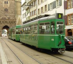 Basel, Switzerland: experiencing efficient, Swiss streetcars